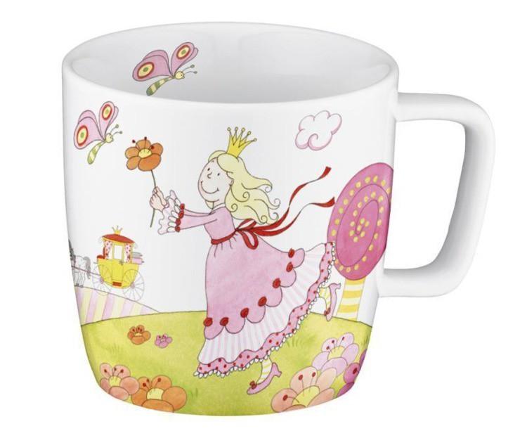Zestaw Porcelany Dla Dzieci 3cz Księżniczka Auerhahn 06050142