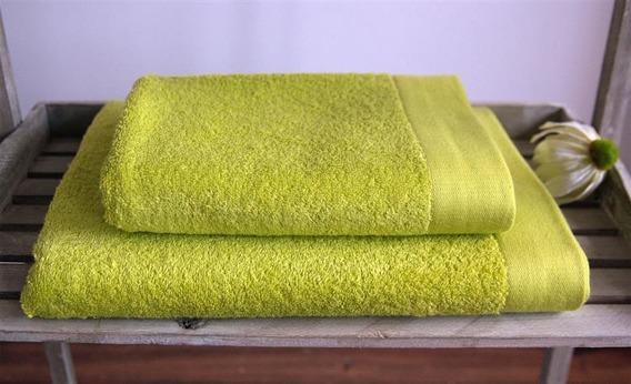 BAMBOO STYLE Limonka Komplet Ręczników Bambusowych Andropol