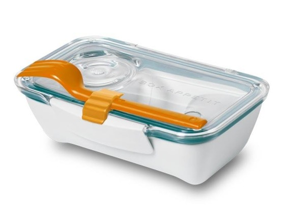 BB - Pojemnik Bento Box, pomarańczowo-niebieski