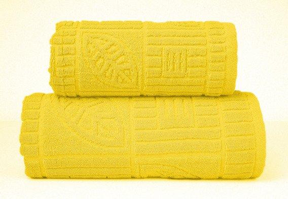 BONITA ŻÓŁTY ręcznik bawełniany GRENO