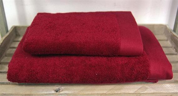 Bamboo Style - Burgund  Ręcznik bambusowy ANDROPOL