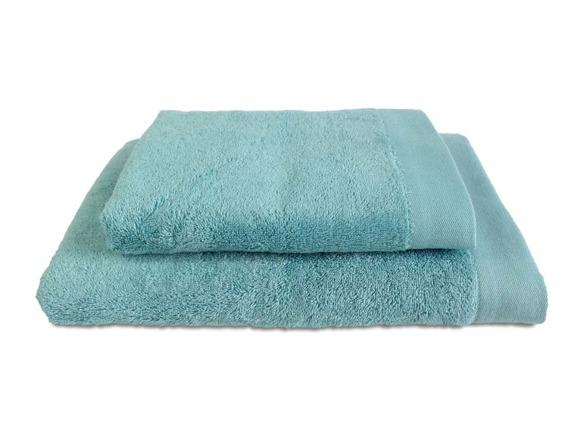 Bamboo Style Morski Niebieski Komplet Ręczników Bambusowych Andropol
