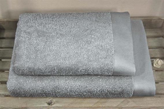 Bamboo Style -Szary  Ręcznik bambusowy ANDROPOL