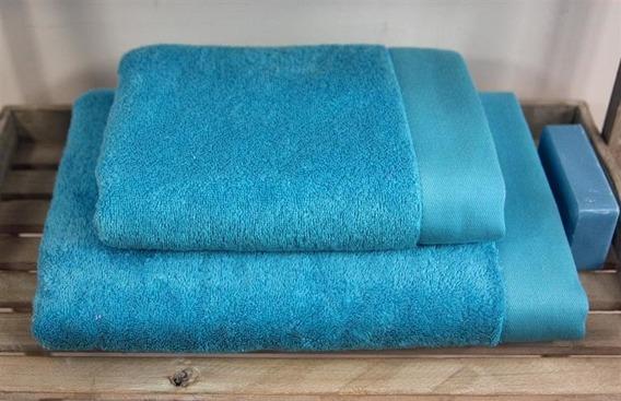 Bamboo Style -Turkus  Ręcznik bambusowy ANDROPOL