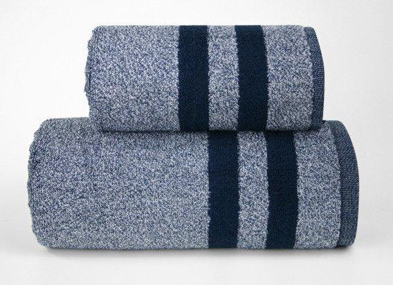 Denim Granatowy ręcznik bawełniany GRENO