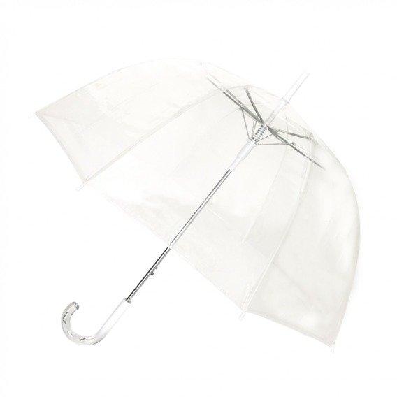 Długi parasol przezroczysty kopuła Smati