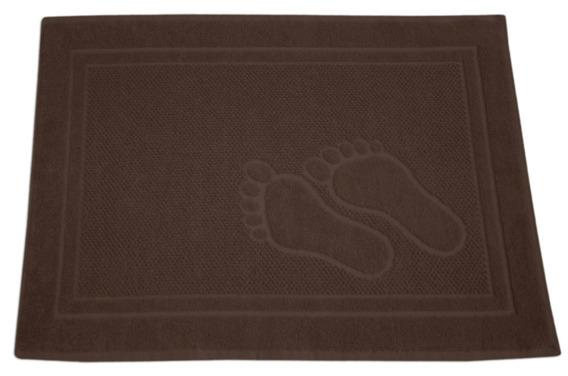 Dywanik Łazienkowy Greno Feet 50X70 Brązowy