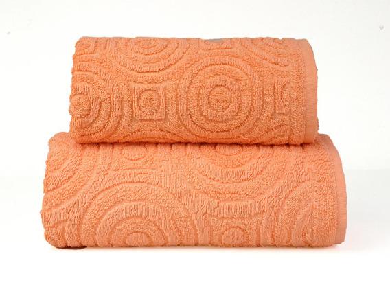 EMMA 2 Pomarańczowy ręcznik bawełniany GRENO