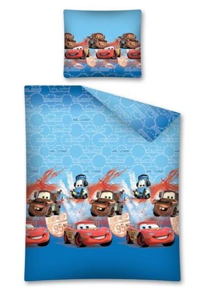 Flanelowa Pościel Dziecięca CARS ZŁOMEK 160x200 cm
