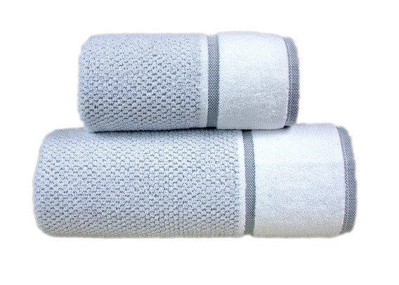 Harmony Stalowy ręcznik żakardowy GRENO