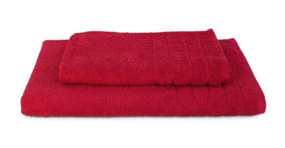 Komplet ręczników ELEGANT 2 szt., czerwony Andropol