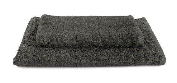 Komplet ręczników ELEGANT 2 szt., grafit Andropol