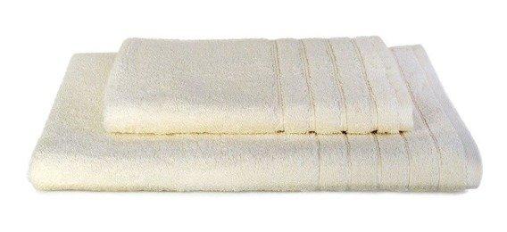 Komplet ręczników ELEGANT Ecru  2 szt. ANDROPOL
