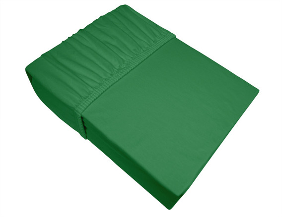 Prześcieradło jersey z gumką Frotex zielone 019