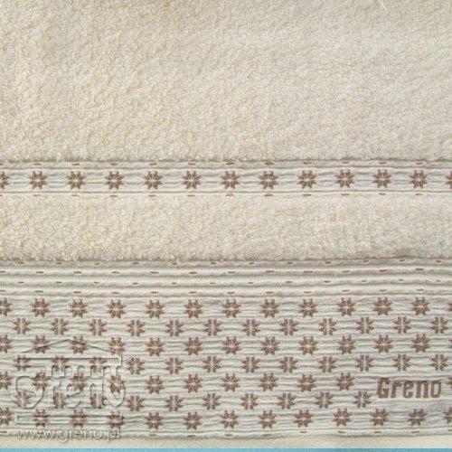 Ręcznik AMARANTE Greno kremowy
