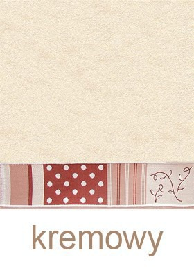 Ręcznik Bawełniany Dla Niej GRENO kremowy