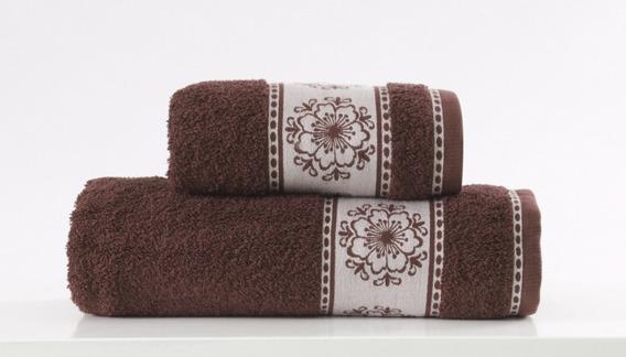 Ręcznik Bawełniany FORGET ME NOT Greno brązowy
