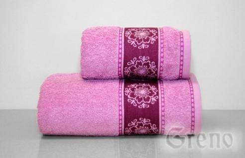 Ręcznik Bawełniany FORGET ME NOT Greno lila