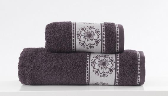Ręcznik Bawełniany FORGET ME NOT Greno stalowy