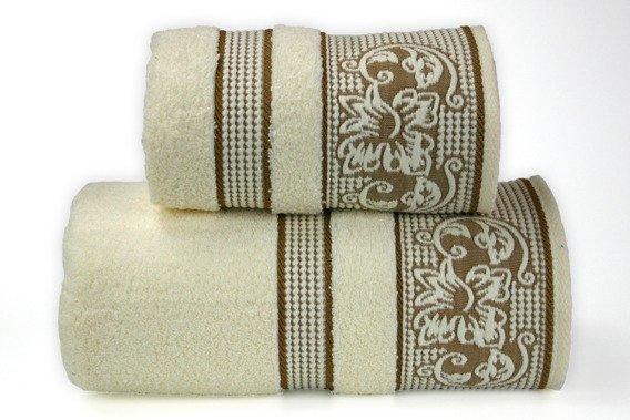 Ręcznik DYNASTY Greno kremowy