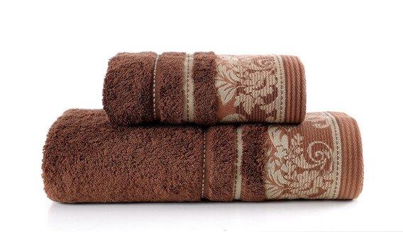 Ręcznik PRETORIA Greno brązowy