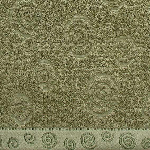 Ręcznik SIGMA Greno zielony