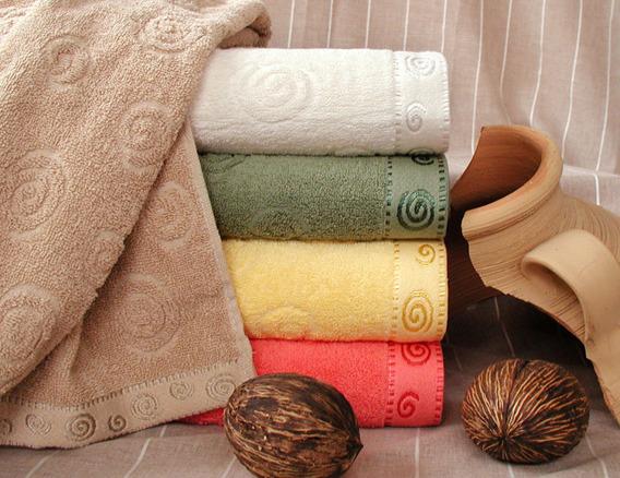 Ręcznik SIGMA Greno żółty