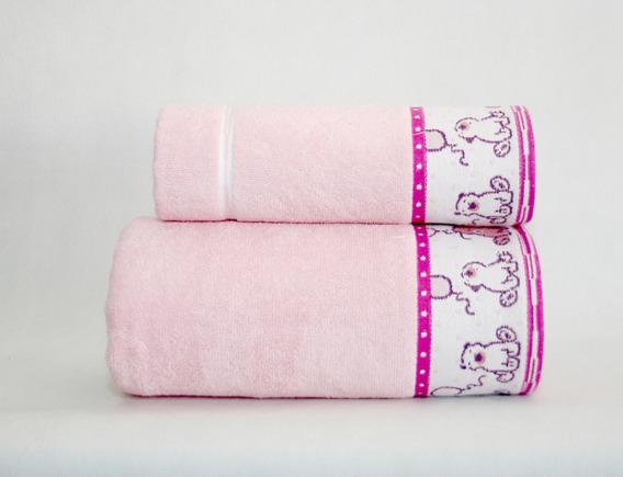Ręcznik SWEET BEAR Greno różowy