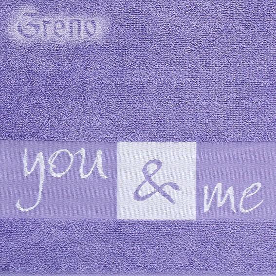 Ręcznik YOU & ME Greno lila
