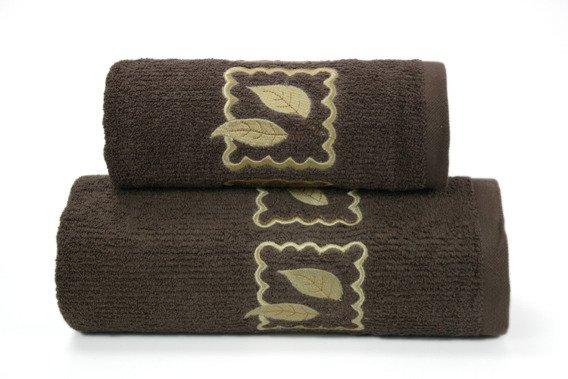 Ręcznik bawełniany GRACJA Greno czekoladowy
