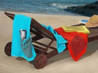 Ręcznik plażowy PRACTICAL Greno czerwony