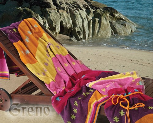 Ręcznik plażowy ZANZIBAR Greno