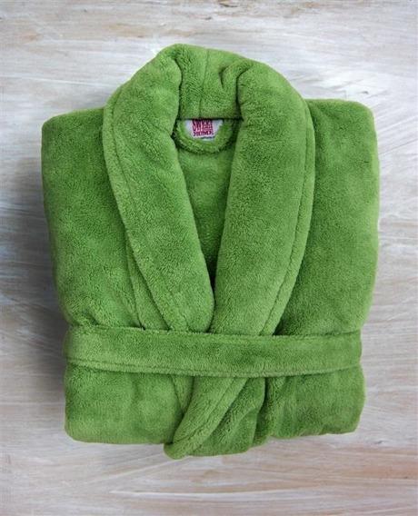 Wyprzedaż!!!! - Szlafrok WELLSOFT Andropol zielony